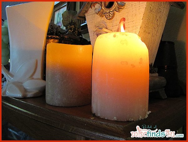 Flameless Candle vs Flame - a choice we can live with