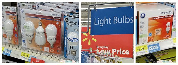 GE Light Bulbs at Walmart