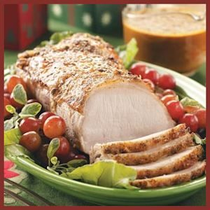 Holiday Pork Roast Recipe by Taste of Home