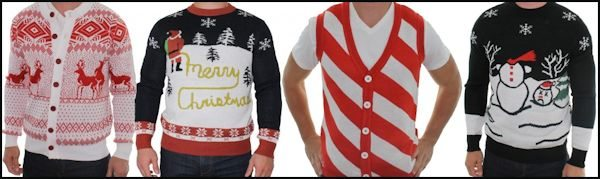 Funny and Raunchy Christmas Sweaters - Not for everyone, but I think they're hilarious.