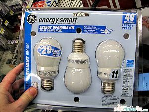 Shopping for Energy Smart Bulbs from GE
