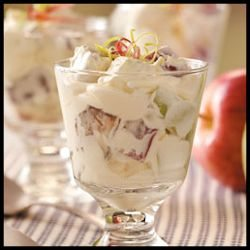 Snickers Candy Bar Apple Salad by Taste of Home