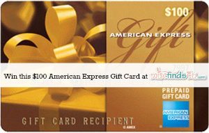 Win a $100 American Express Gift Card