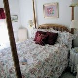 $165 a night (plus tax) for the tiny and outdated room at Otters Pond