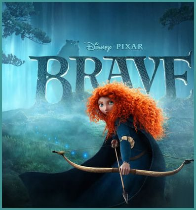 Disney Pixar BRAVE Movie starring Merida