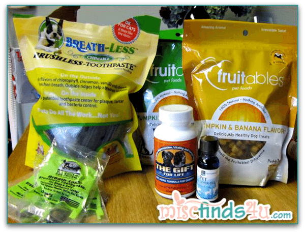 Dog Wellness Treats and Supplements from HealthWorks
