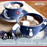 Easy Homemade Marshmallows Recipe