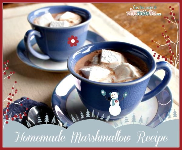 Easy Homemade Marshmallows Recipe