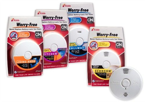Kidde Worry-Free Alarms