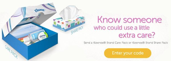 Kleenex Cares Initiative Details #KleenexCares