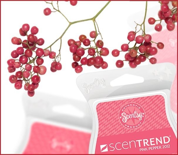 Scentsy Pink Pepper 2012 Scentrend