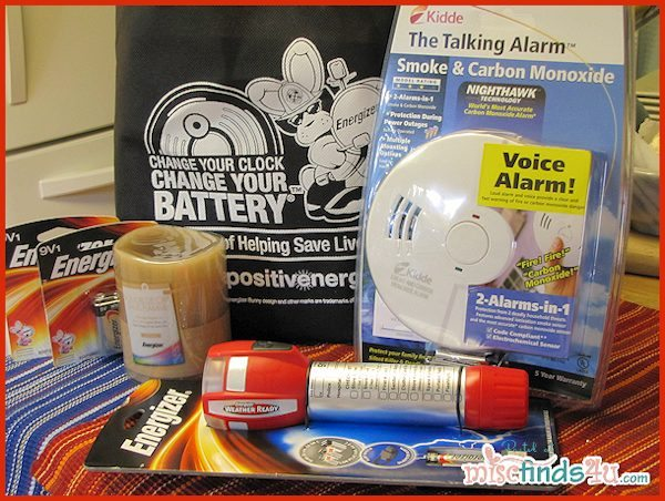 Win this Energizer Family Fire Safety Home Kit at MiscFinds4u.com