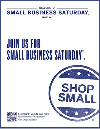 Small Business Saturday - November 24, 2012