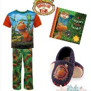 Celebrate Thanksgiving with Dinosaur Train! PJ's, Slippers and Holiday Book