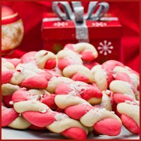 Bunny Cooks' Candy Cane Cookie Recipe