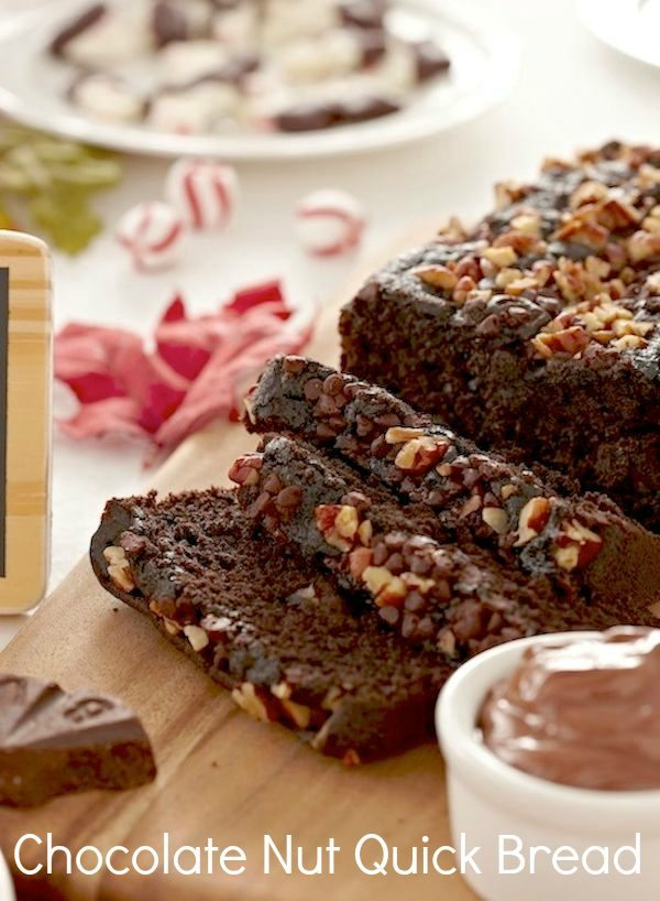 Christmas Morning or Gifts from the Kitchen – Chocolate Nut Quick Bread Recipe