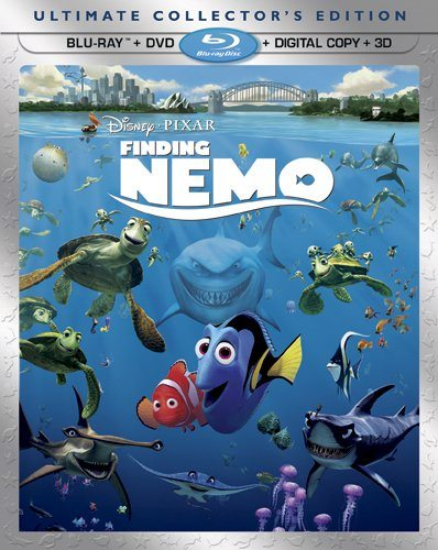 "Disney * PIXAR's ""Finding Nemo"" (Five-Disc Ultimate Collector's Edition: Blu-ray 3D/Blu-ray/DVD + Digital Copy)"