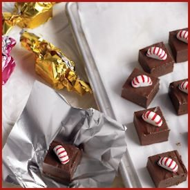 Martha Stewart's Peppermint Fudge Recipe