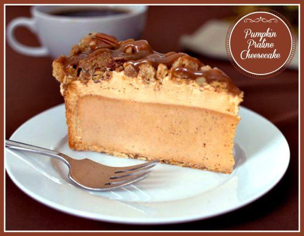 Eli's Pumpkin Praline Cheesecake