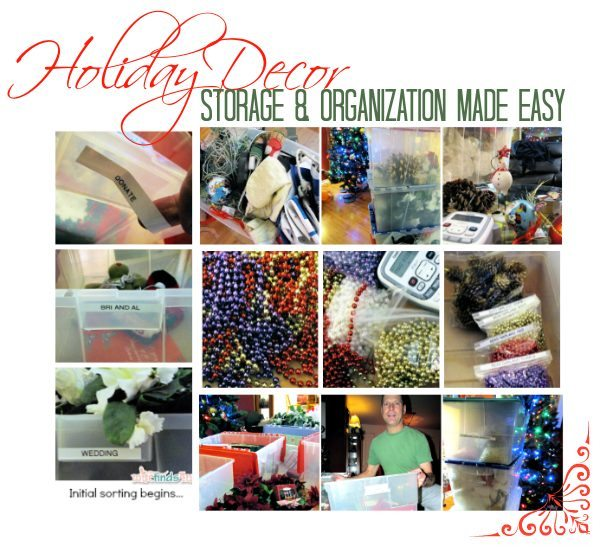 Storing and Organizing Holiday Decor Tips