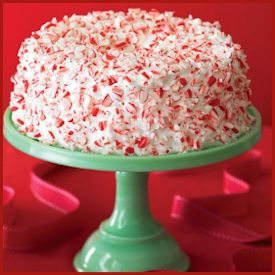 Sunset Magazine's Candy Cane Cake Recipe