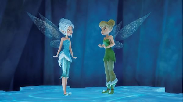 Tinker Bell and Periwinkle from Disney's THE SECRET OF THE WINGS Movie