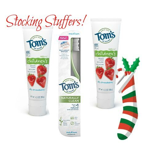 Inexpensive Stocking Stuffers for Kids - Toms of Maine Toothpaste