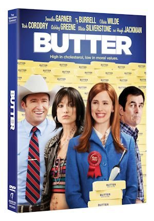BUTTER Movie on DVD and Blu-Ray
