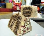 Recipe: Mini Peppermint Chocolate Cake with Cool Whip Frosting