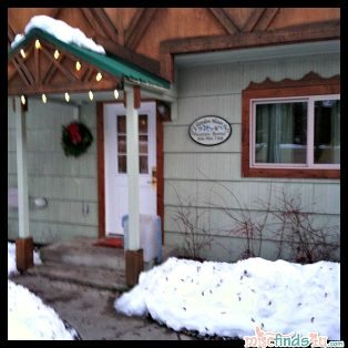 Our favorite little house in Leavenworth