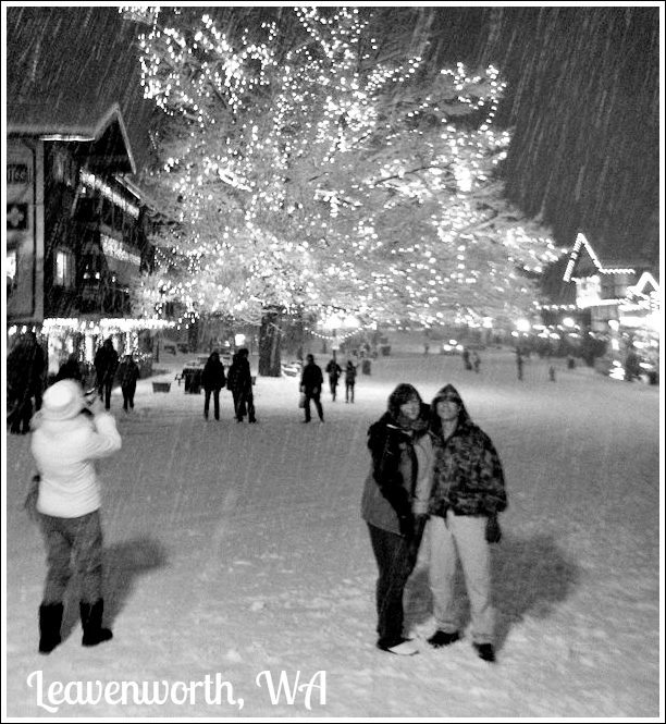On an outing in Leavenworth, WA - December 19, 2012