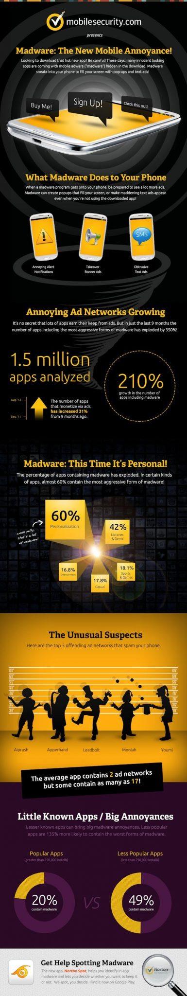 Norton Madware Infographic
