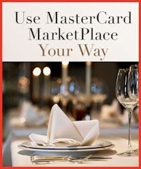 Shop the MasterCard MarketPlace for the Holidays - great deals on gifts, events, and experiences