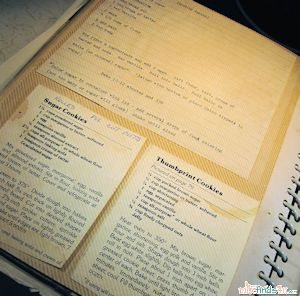 My book of favorite recipes started in the 80's when I was in my early 20's