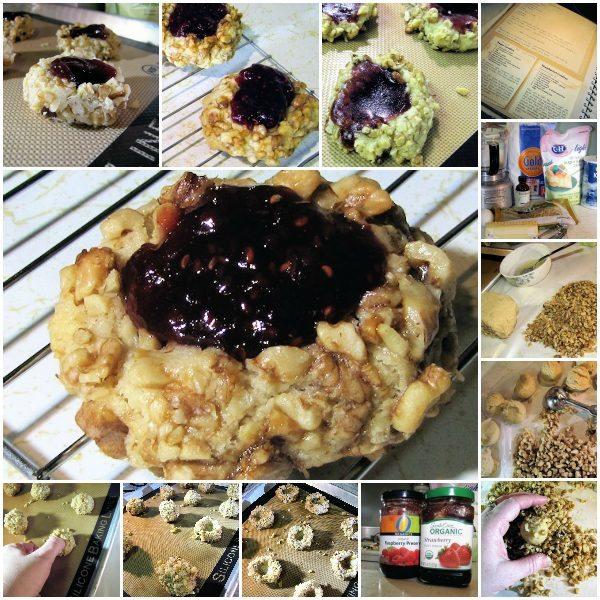 Easy Thumbprint Cookie Recipe - C & H Light Sugar #CHLight