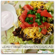 Vegetarian Recipes: Quick and Easy Taco Salad Recipe