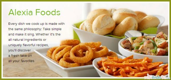 Alexia Foods – All Natural Frozen and Gourmet Side Dishes