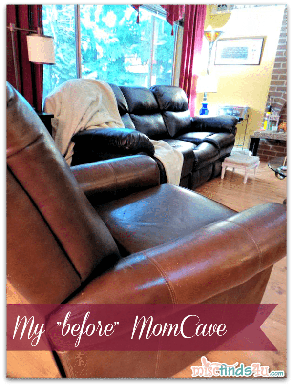 "#Cbias #momcave ""Before"" Mom Cave Makeover - The only space left in the house for me and my office"