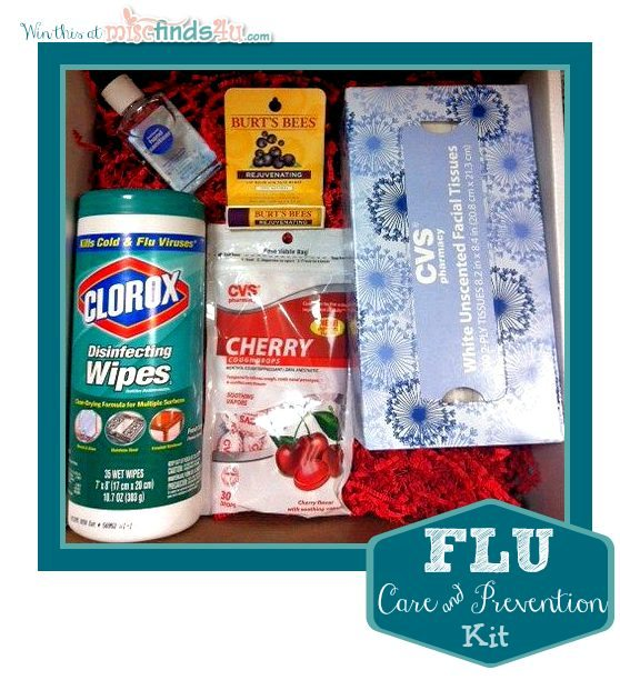 Win a Clorox Flu Care Package from MiscFinds4u.com