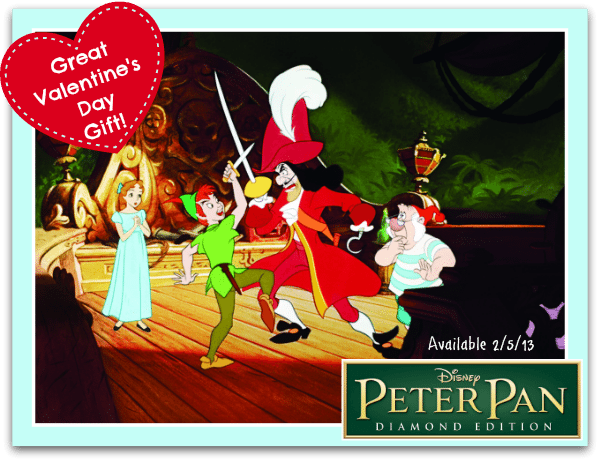 Disney Diamond Edition Peter Pan Blu-Ray Release February 5, 2013