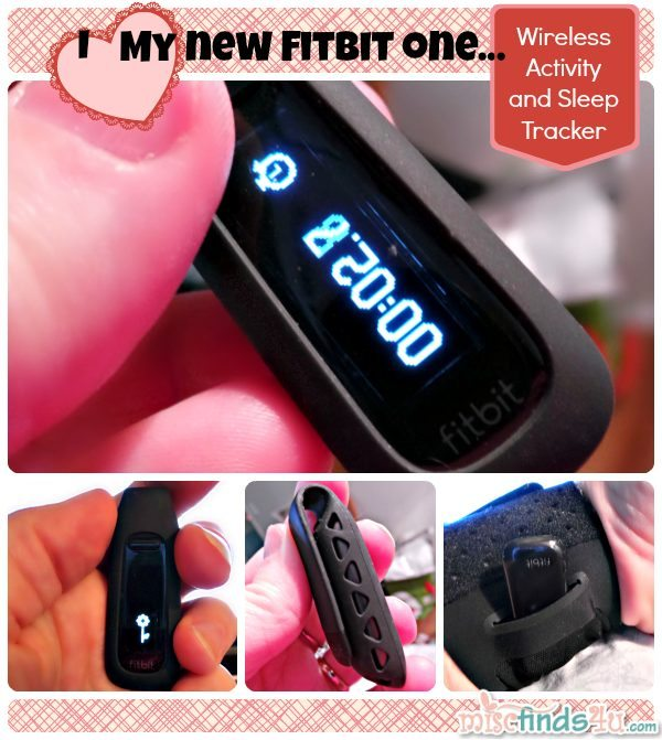 "I love my fitbit one - this tiny Wi-Fi/Bluetooth pedometer is just 2"" long. At night it slips into a wrist strap to track my sleep efficacy."