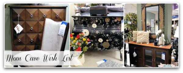 #Cbias #momcave Mom Cave Storage Options - Storage doesn't have to be ugly! Room for my office and craft gear to be hidden away