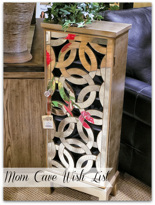 Mom Cave Wish List - Elegant Storage Solutions #Cbias #momcave