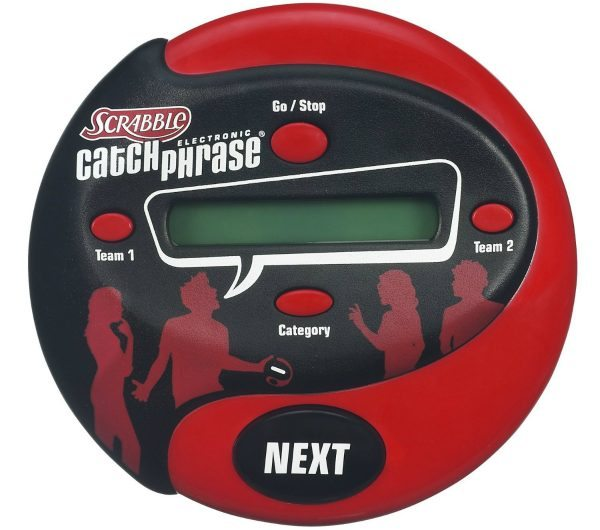 Hasbro Scrabble Electronic Catch Phrase