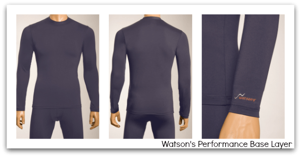 Watson Performance Base Layer - photo credit watson's