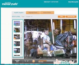 My home movies on YesVideo's MemorySafe site