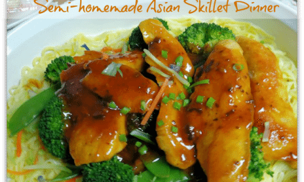 Semi-Homemade Recipes: Asian Skillet Chicken Dinner in Under 15 Minutes