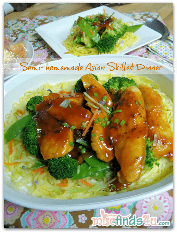 Semi-Homemade Asian Skillet Dinner Recipe