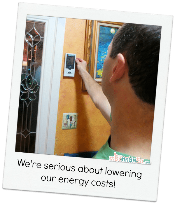 We're serious about lowering energy costs - replacing outdated appliances and old light bulbs