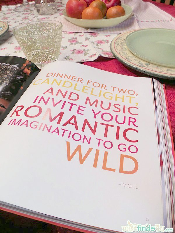 Moll Anderson, Seductive Tables For Two: Tablescapes, Picnics, and Recipes That Inspire Romance #cbias #SeductiveTables
